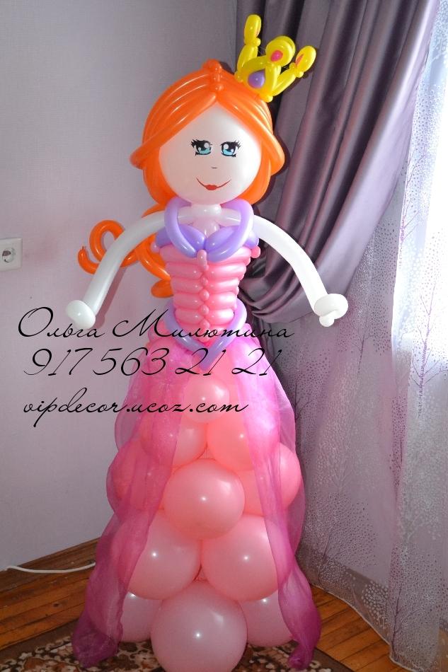 Девочка из воздушных шаров мастер класс
